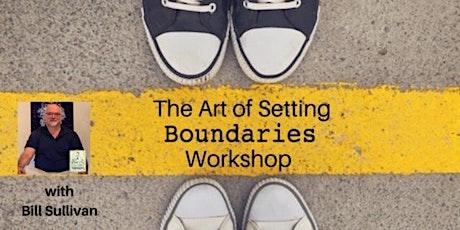 VIRTUAL STUDIO: The Art of Setting Boundaries & Holding Space via Zoom tickets