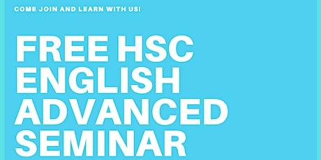 FREE HSC ENGLISH ADVANCED SEMINAR biglietti