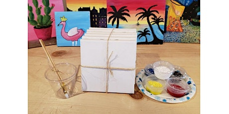 NEW - Curbside Crafts! - Pick up and Paint - Canvas  (06-09-2020 starts at 2:00 PM) tickets
