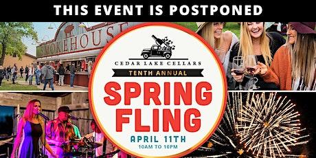 POSTPONED: Spring Fling: 10-Year Anniversary Event tickets