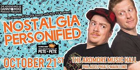 *RESCHEDULED TO 10/21* Danny & Mike From Nick's Adventures of Pete & Pete tickets