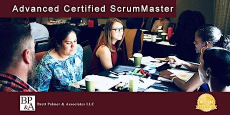 Advanced Certified ScrumMaster (A-CSM) - Orange County tickets