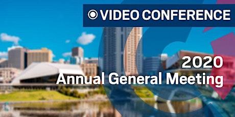 SA | 2020 Annual General Meeting tickets