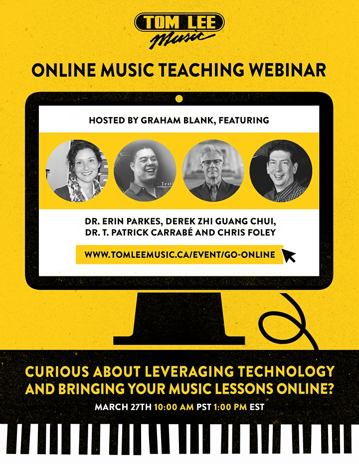 Online Music Teaching Webinar image