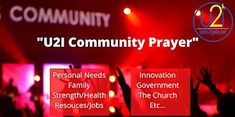 U2I Community (Zoom) Prayer Mon-Wed_Fri 8am tickets