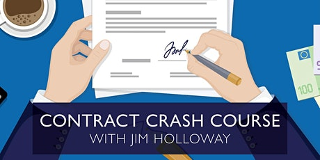 Contract Crash Course with Jim Holloway, Esq. tickets