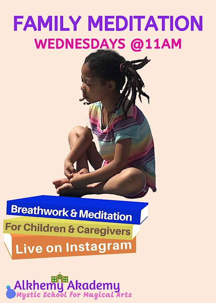 Family Meditation #WellnessWednesdays image