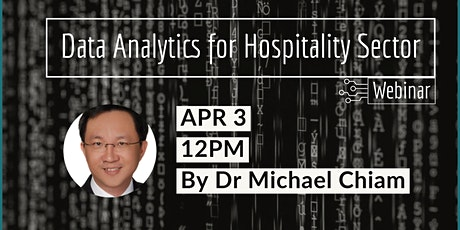Data Analytics for Hospitality Sector tickets
