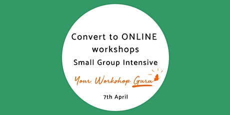 Small Group Design Intensive for ONLINE workshops tickets