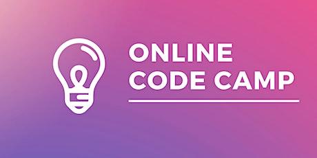 Online Code Camp tickets