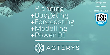 Budgeting and Forecasting with Power BI - Virtual Lunch & Learn tickets