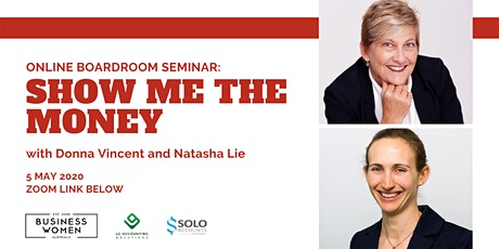 ONLINE, BWA Boardroom Seminar: Show Me the Money tickets
