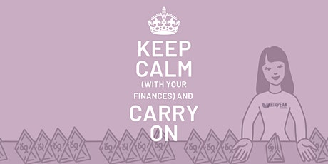 Lunch & Learn Webinar: Keep Calm (with your finances) and Carry On tickets