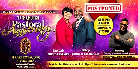 17th Church & Pastoral Anniversary Celebration tickets