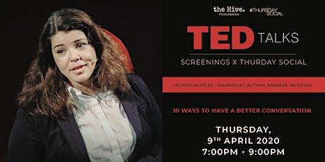 Thursday Social: Ted Talks Screening tickets