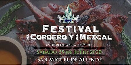 10° Festival del Cordero y del Mezcal  boletos