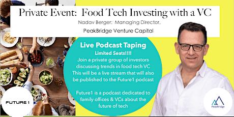Food Tech Venture Capitalist:  Nadav Berger (PeakBridge VC) tickets