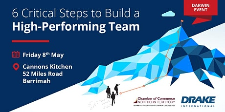 6 Critical Steps to Build a High-Performing Team (Darwin) tickets