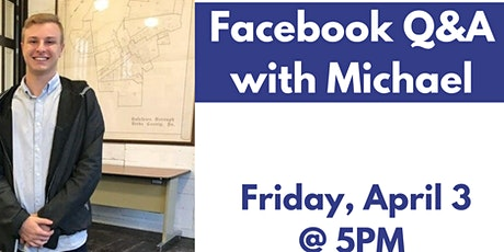 Happy Hour Facebook Q&A with Michael tickets