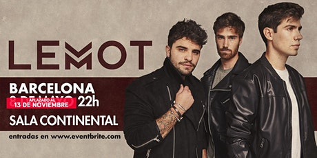 LEMOT - Concierto Barcelona - Sala Continental entradas