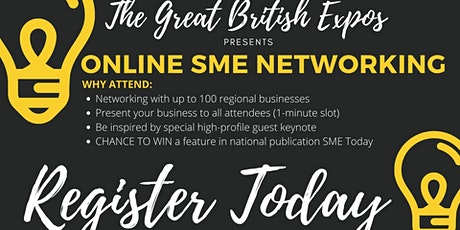 THE THAMES VALLEY EXPO - ONLINE NETWORKING tickets
