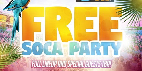Free Soca Party tickets