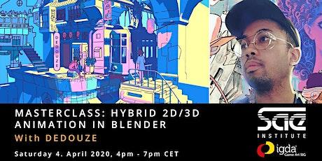 Online Unterricht - Hybrid 2D and 3D Animation in Blender tickets