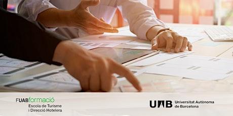 Sesión informativa sobre el Máster online y Cursos online en Turismo UAB boletos