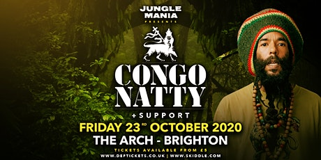 Jungle Mania presents Congo Natty tickets