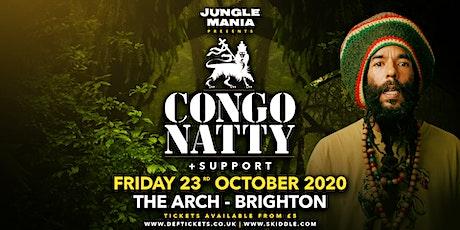 Jungle Mania presents Congo Natty tickets