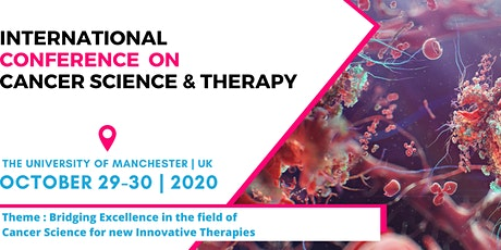 International Conference on Cancer Science and Therapy tickets