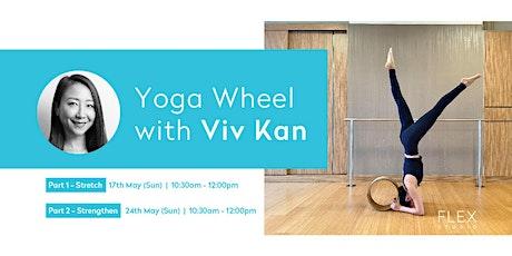 Yoga Wheel Workshop with Viv Kan tickets