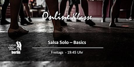 Online Live Kurs - Salsa Solo Basics Tickets