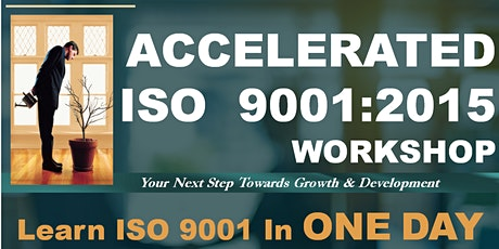 ISO 9001:2015 Accelerated Workshop -  JUN2020 tickets