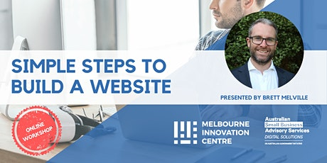 Simple Steps to Build a Website tickets