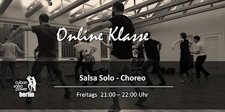 Online Live Klasse - Salsa Solo Choreo Tickets