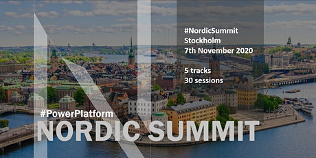 Power Platform Nordic Summit tickets