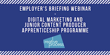Employer's Briefing Zoom Meeting - Digital Marketing & Content Producer Apprenticeship Programme tickets