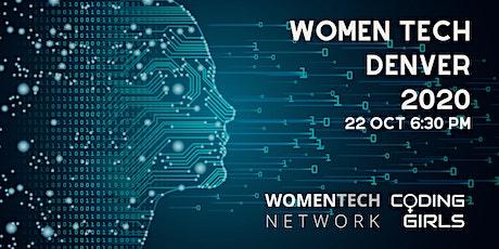 WomenTech Denver 2020 (Employer Tickets) tickets