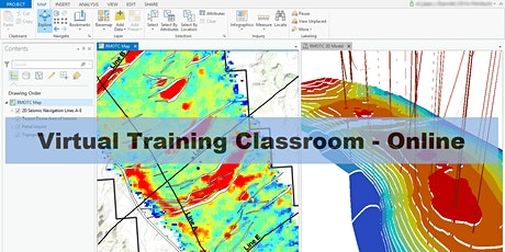 ArcGIS Pro Essentials for Petroleum - Online course London (UTC) tickets
