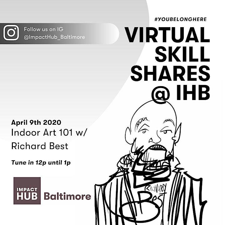 Virtual Skill Shares @ IHB image