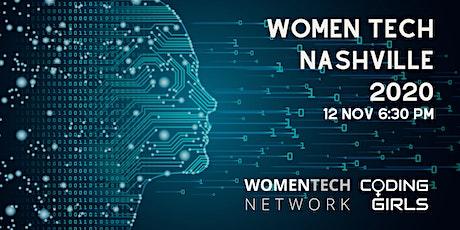 WomenTech Nashville 2020 (Employer Tickets) tickets