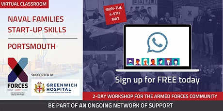 Naval Families: Start Up Skills Virtual Workshop- Portsmouth tickets