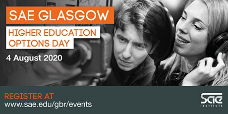 SAE Glasgow Higher Education Options Day tickets