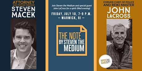 The Note by Steven the Medium, with Special Guest John LaCross tickets