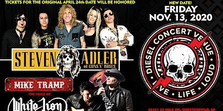 Steven Adler of Guns N Roses w/Shadows Reflection tickets