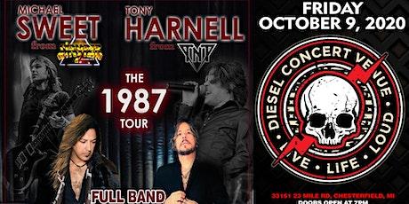 Michael Sweet of Stryper & Tony Harnell Of TNT tickets