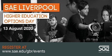 SAE Liverpool Higher Education Options Day tickets