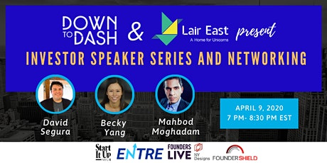Investor Speaker Series and Networking Event - Online Event tickets