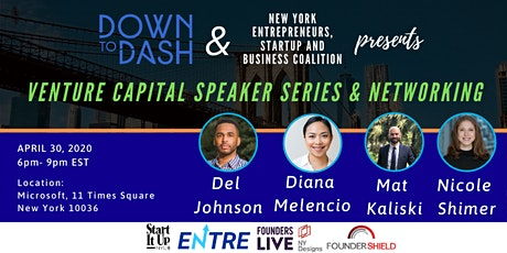 Venture Capital Speaker Series and Networking Event tickets